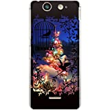 CaseMarket 【ポリカ型】 docomo Xperia SX SO-05D ポリカーボネート素材 ハードケース [ Frame Picture Collections クリスマスツリー ]