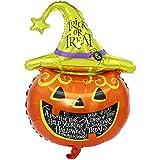 YideaHome アルミ バルーン ハロウィン 風船 ハロウィン 飾り バルーン HALLOWEEN 文化祭 装飾 かぼちゃ コウモリ パーティー 飾り 大型