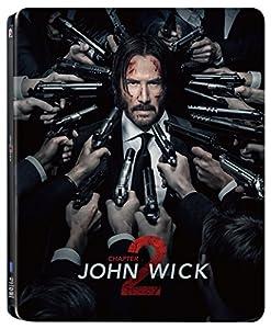 【Amazon.co.jp限定】JOHN WICK 2 / ジョン・ウィック:チャプター2 コレクターズ・エディション 日本オリジナルデザインスチールブック仕様 (A4ビジュアルシート付き) [Steelbook] [Blu-ray]