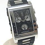 (ブルガリ)BVLGARI RTC49S レッタンゴロ メンズ腕時計 腕時計 SS/ラバー メンズ 中古