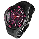 CITIZEN (シチズン) 腕時計 H034-007  ソーラー Q&Q ピンク 【並行輸入品】