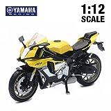 NewRay 1/12 Yamaha YZF-R1 Yellow ニューレイ ヤマハ バイク スケールモデル 黄色