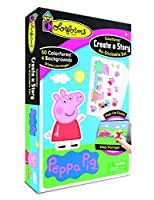 Colorforms Create a Story Peppa Pig Art and Craft Kit [並行輸入品]