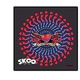 HAKUBA キャラモード マイクロファイバーミニタオル SK∞ アダム 日本製 手触りの良いマイクロファイバー製 200×200mm正方形サイズ