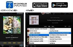 「NETWORK PLAYER CONTROLLER」の操作画面イメージ