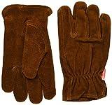 キャプテンスタッグ(CAPTAIN STAG) アウトドア用 革 手袋 レザーグローブ 防寒 M-5560M-5560