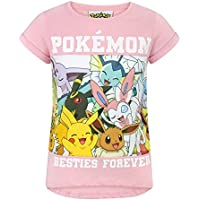 Pokemon Besties Forever Girls T-Shirt