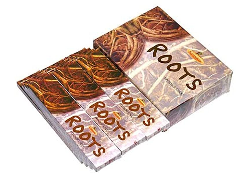 豊かにするまっすぐにする並外れてA-RAVI RAG(エーラビ ラグ) ルーツ香 スティック ROOTS 12箱セット