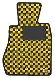 KARO(カロ) フロアマット SISAL イエロー/ブラック AUTOBIANCHI(アウトビアンキ) A112アバルト・エリート 0151(一台分) - 34,020 円