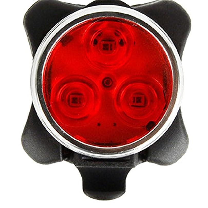 あなたが良くなります爆発雰囲気RaiFu テールライト USB充電式 LED 自転車ライト 3 LED サイクリング 4ライトモード 防水 レッド