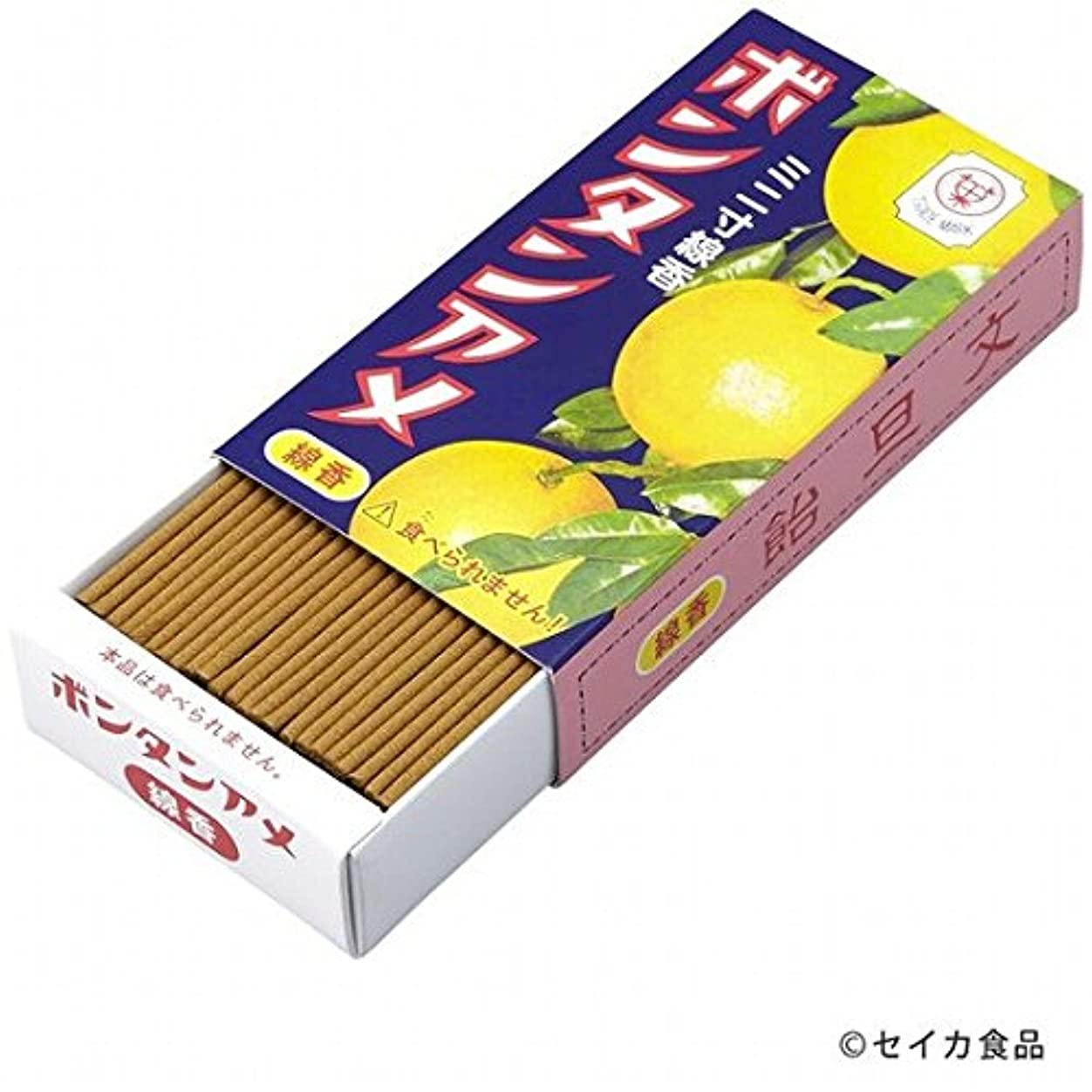 ペレグリネーション刺激する虚弱カメヤマキャンドル( kameyama candle ) ボンタンアメ ミニ寸線香