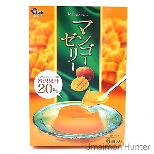 マンゴーゼリー 70g×6個入り×15箱 あさひ アップルマンゴー使用 贅沢果汁20% みずみずしくて味わい深いフルーツゼリー