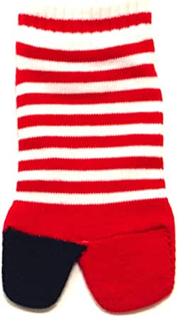 COPO (コポ) キッズ 足袋 ソックス ボーダー 子供 靴下 15-21cm