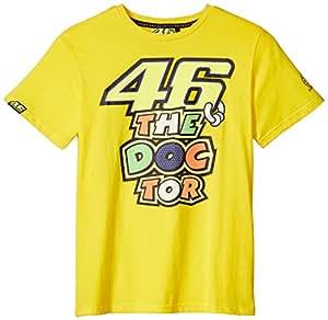 ヤマハ(YAMAHA) ロッシ VR46 Tシャツ 46BIG&ザ・ドクターロゴ イエロー Mサイズ Q5D-YSK-151-00M
