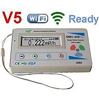 GQ GMC-320 + V5デジタルガイガーカウンターWiFiワイヤレスデータロガー線量計放射検出器