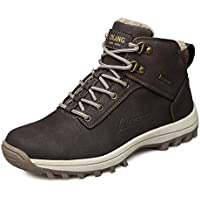EZUOGO Men's Snow Boots Outdoor Waterproof Sneakers Winter Warm Shoes