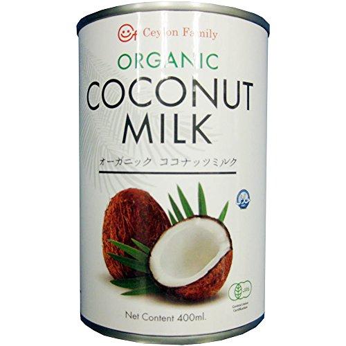 セイロンファミリー オーガニック ココナッツミルク 400ml