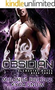 Obsidian: An Alien Warrior Romance (Elemental Mates Book 3) (English Edition)
