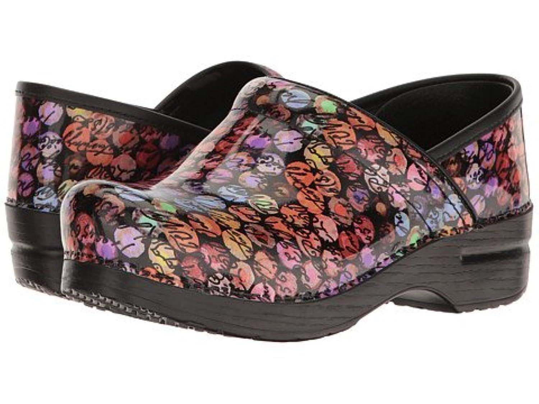 (ダンスコ) Dansko レディースクロッグズ?ミュール?スライド?靴 Professional Script Patent US Women's 10.5-11 25.5-26cm Regular [並行輸入品]