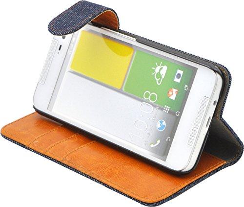 PLATA HTC J butterfly HTL23 ケース 手帳型 デニム ジーンズ スタンド ケース ポーチ 手帳 カバー AHTL23-63A-A