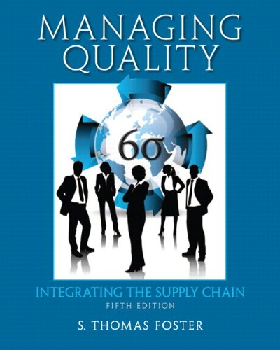 Download Managing Quality: Integrating the Supply Chain 0132737981