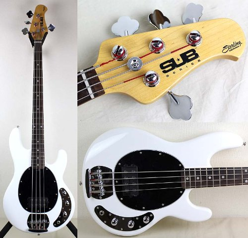 Sterling by Music Man S.U.B. SERIES Ray4 White