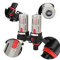 油水分離器 コンプレッサーフィルターキット 空気圧レギュレータ PT1 / 2 BFC4000