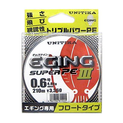ユニチカ(UNITIKA) キャスライン エギングスーパーPEIII 210m 0.6号