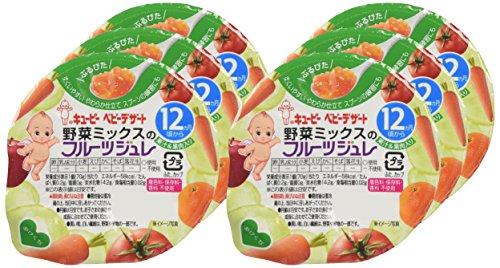 キユーピー 野菜ミックスのフルーツジュレ 12ヵ月頃から 70g×6個