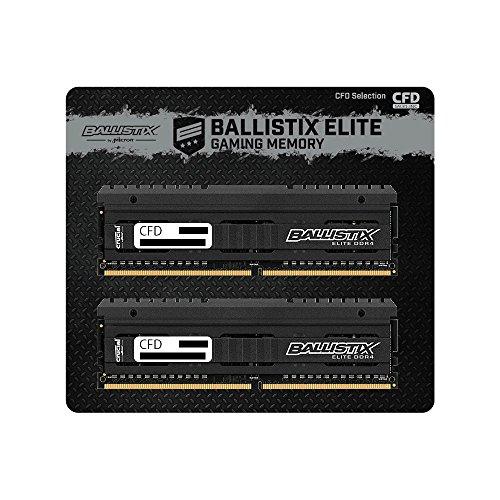 CFD W4U2666BME-8G Crucial ゲーミングモデル DDR4-2666 デスクトップ用メモリ 288pin DIMM 8GB 2枚組  Heatsink搭載