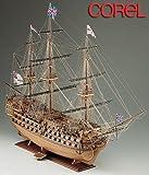 輸入木製帆船模型コーレルSM23 HMS ビクトリー