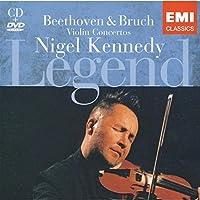 Violin Concerto/Violin Concerto No. 1 (Kennedy) [CD+DVD] by Beethoven/Bruch (2008-08-02)