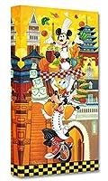 Disney ディズニー「ミッキー&ドナルド&グーフィー/A World of Flavor」作品証明書・展示用フック付 公認作家 ティム・ロジャーソン【限定1500部】 【並行輸入品】