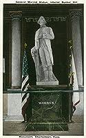 一般のCharlestown、内部ビューMA–Warren Statue in Bunker Hill Monument 16 x 24 Giclee Print LANT-30248-16x24