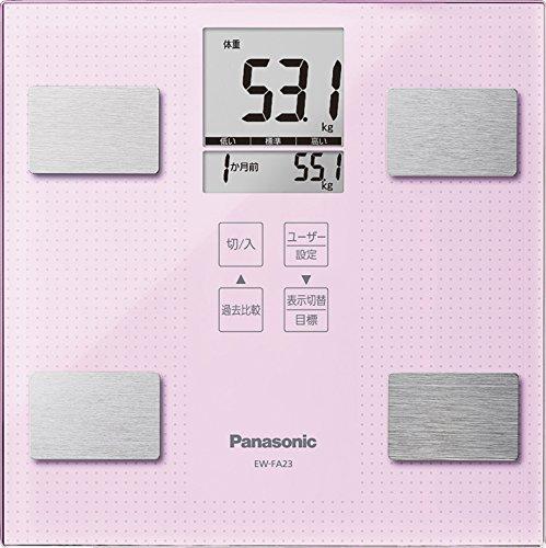 パナソニック 体重・体組成計 ライトピンク EW-FA23-M