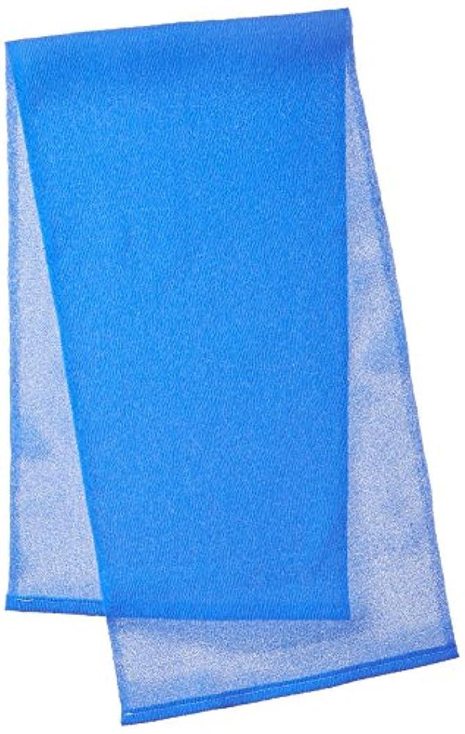 半円安心させる雇ったキクロン メンズ用 グッメン オトコのボディタオル ベリーハード スプラッシュブルー