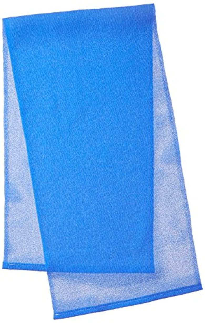 個人筋口キクロン メンズ用 グッメン オトコのボディタオル ベリーハード スプラッシュブルー