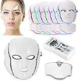 7色LEDマスク 美肌 美容成分の吸収・浸透を補助 家庭用LED美顔器