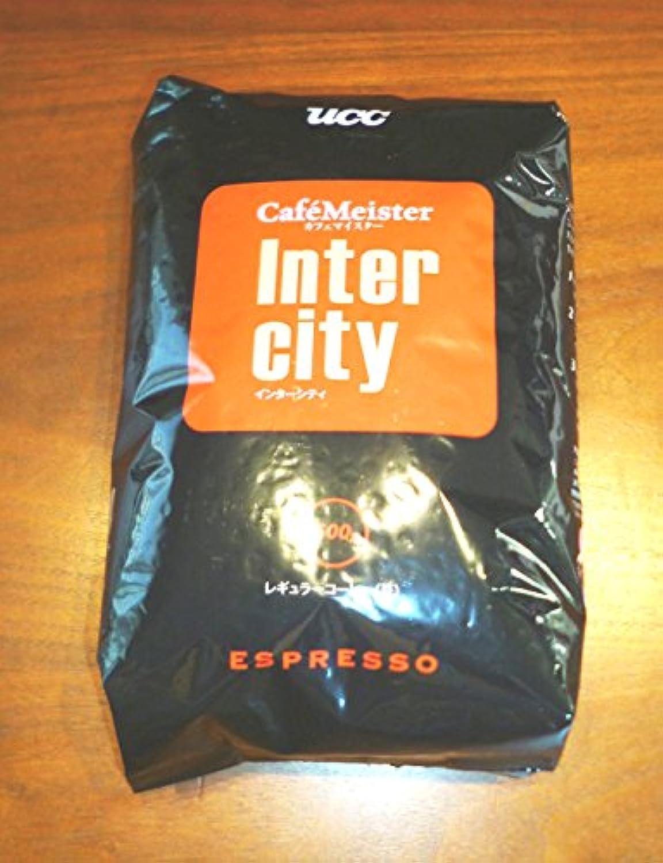UCCエスプレッソコーヒー(豆)500gインターシティ