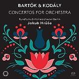 バルトーク & コダーイ : 管弦楽のための協奏曲 / ヤクブ・フルシャ | ベルリン放送交響楽団 (Bartok & Kodaly: Concertos for Orchestra / Jakub Hrusa & Rundfunk-Sinfonieorchester Berlin) [SACD Hybrid] [Import] [日本語帯・解説付]