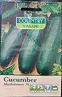 HIGH発芽SEEDSだけでなく、植物:植物種子ガーデニング - (Marketmore 76)