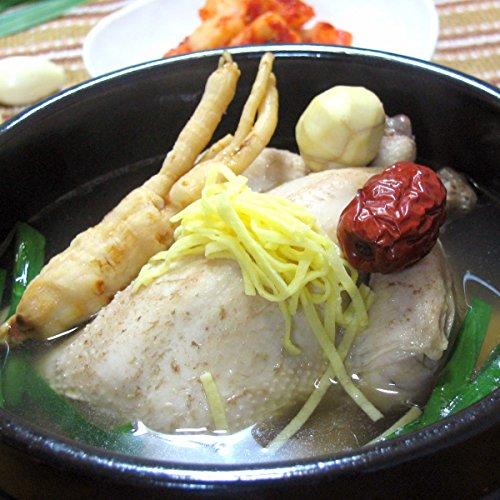 水郷のとりやさん 参鶏湯 サムゲタン 1羽(約1kg) アメリカ産 鶏肉 ゲームヘン使用 手作り 無添加