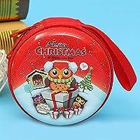 XIYI ミニTinplateクリスマス漫画ギフトボックスストレージバッグペンダントデートの子供のおもちゃのギフト E