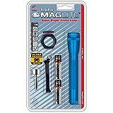 Maglite Mini Incandescent 2-Cell AA Flashlight Combo, Blue
