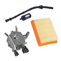 Fityle 燃料フィルター キャブレター エアフィルター (STIHL FS120 FS200 FS250用)