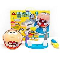 歯科玩具プラスチシン歯科キット歯科型知育玩具教育玩具学校教室と医者ロールプレイング