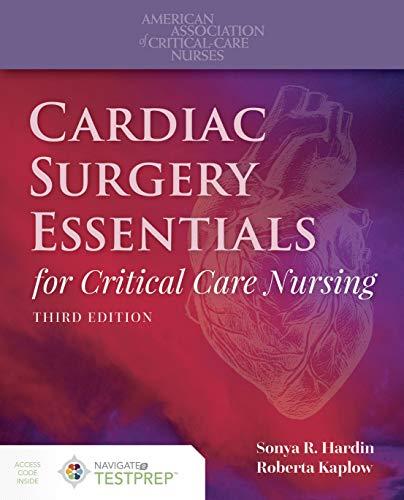 Download Cardiac Surgery Essentials for Critical Care Nursing 1284154211