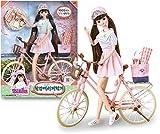 ミミワールド17歳ミミ、漢江自転車、バービー人形、子供ロールプレイおもちゃセット Mimi world 17 years old Mimi, Bicycling in Han River, Barbie Doll, Children Role Play Toy Set [並行輸入品]
