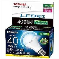 東芝 LED電球 ミニクリプトン形 40W 広配光 N色 【品番】<T>LDA4N-G-E17/S/40W