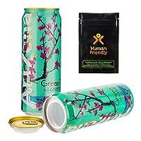 アリゾナグリーンティーDiversionセーフStash Can W humanfriendly smell-proofバッグ